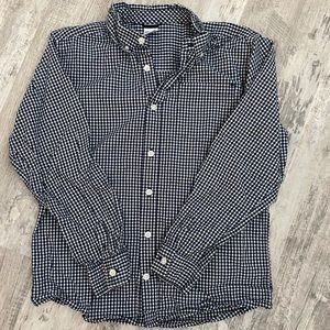 Gymboree • Boy's Gingham Button Down